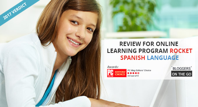 Review for Online Learning Program Rocket Spanish Language